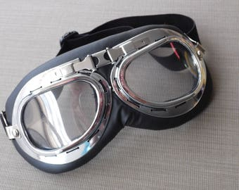 aviator goggles, steampunk goggles,burning man goggles,flying googles,mad max goggles,