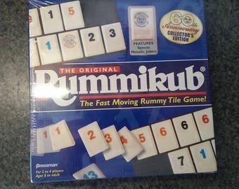 Rummikub board game 1997 Pressman Rummy card game