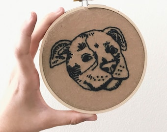 Pit Bull Embroidery