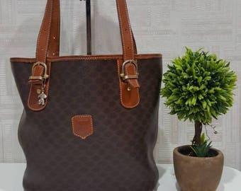 Authentic Celine Macadam Bucket Bag