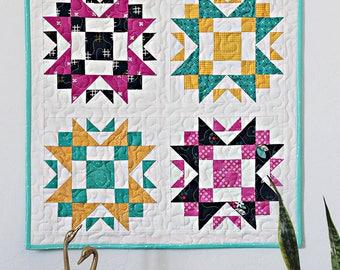 Prairie Waltz MINI Quilt Pattern