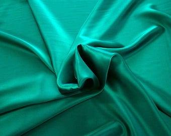 1712-079 - Crepe Satin silk 100%, width 135/140 cm, made in Italy, dry cleaning, weight 100 gr