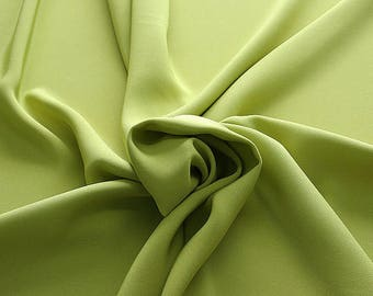 305089-Crepe marocaine Natural Silk 100%, width 130/140 cm, made in Italy, dry cleaning, weight 215 gr