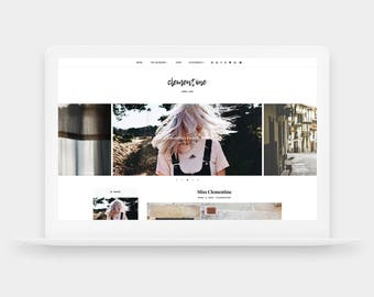 SALE! Clementine | Responsive Blogger Template