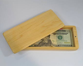 Maple Cash Box