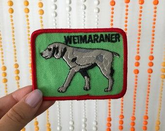 Vintage 'Weimaraner' Dog Patch