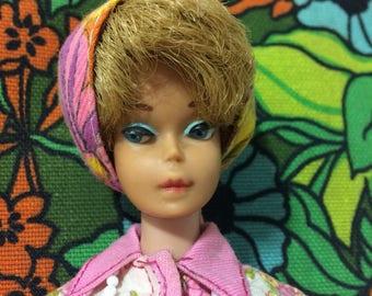 Vintage 1962 Midge Doll, Bubble Cut