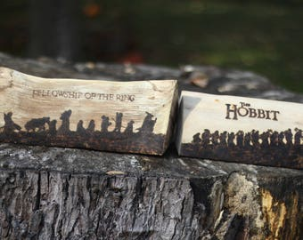 Hobbit or Lord of the Rings Pyrography