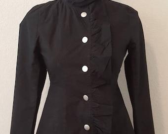 ON SALE Vintage Ruffle Jacket