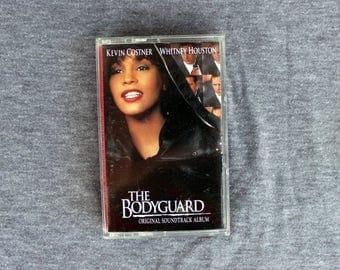 The Bodyguard - Whitney Houston - Soundtrack - Cassette Tape 1992