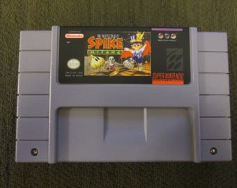 The Twisted Tales Of Spike McFang Super Nintendo SNES