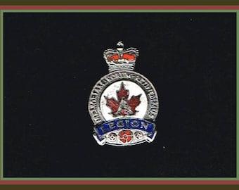 Royal Canadian Legion Lapel Pin - RCL Brooch
