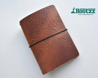 Passport Traveler's notebook cognac - midori like- fauxdori