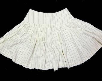 Flirty Striped Skirt