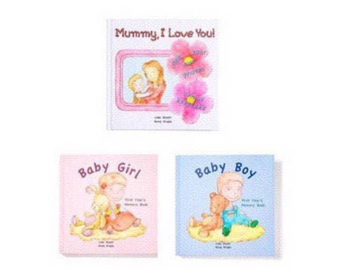 Mummy, I Love You! and Baby Girl & Baby Boy bundle - Choose from 3 Hair/Skin Colour Options