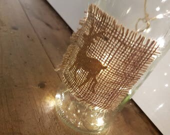Christmas light up bottle ideal gift