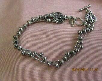 Woven Stainless Steel Bracelet