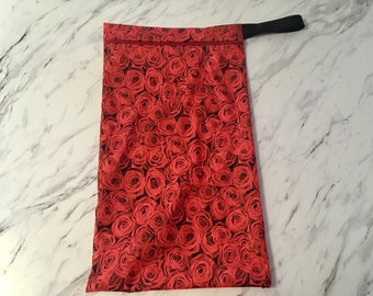 Custom made wetbag for cloth diapers / unpaper towels / family cloth (wet bag)