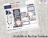 Universe Celestial Galaxy Constellations  Mini Weekly kit Erin Condren Happy Planner planner stickers
