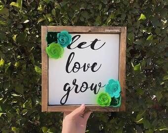 Wood Sign | baby shower gift | Nursery Decor | baby girls room | Decor | Rustic Decor | girls room | felt decor | felt sign | baby room