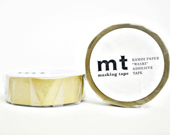 MT 1P Gold Washi Tape, MT Masking Tape - MT01P205