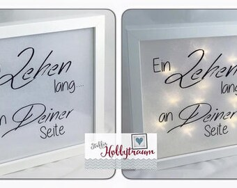 3D lighted bright-line frame, frame, LED lights frame, picture frames, frame illuminated, gift wedding, wedding,.