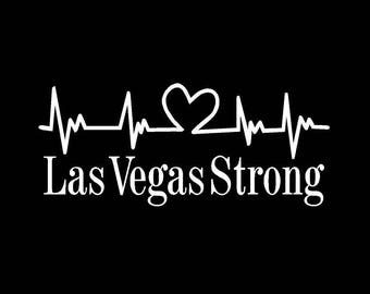 Las Vegas Strong Decal *FREE SHIPPING*