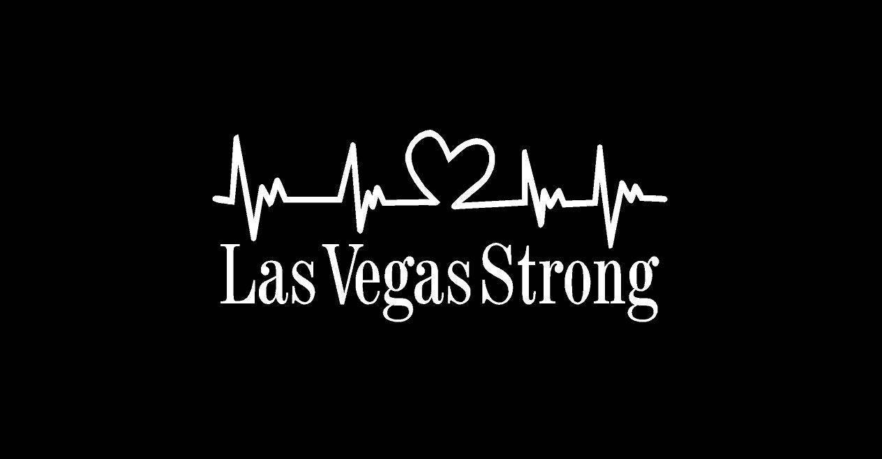 Las Vegas Strong Decal FREE SHIPPING - Custom vinyl decals las vegas