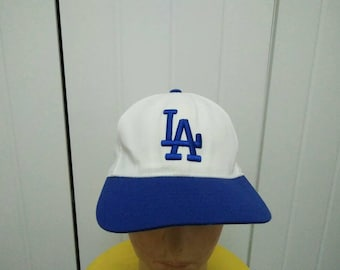 Rare Vintage LA | LOS ANGELES DODGERs Embroidered Cap Hat Free size fit all