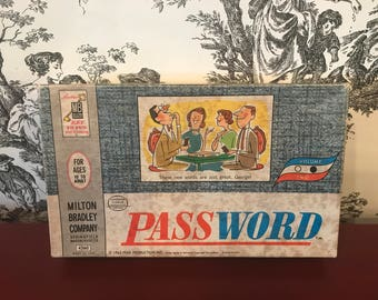 1962 Password Game