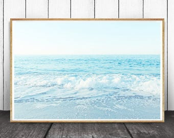 Ocean Wave Print, Waves Print, Ocean Print, Ocean Wall Art, Beach Decor, Ocean Water Photo, Water Print, Ocean Photography, Ocean Art, Ocean