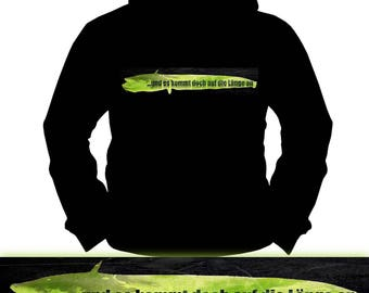 And it depends on the length | Wels · Catfish | Fishing Fishing | Hoodie | S-XXL