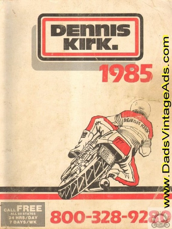 1985 Dennis Kirk Motorcycle Parts & Accessories Catalog #mb257