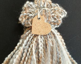 Natural Tassel Angel