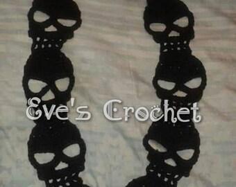 Skeleton crochet scarves