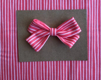 Stripe single bow!