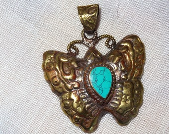 Nepalese pendant gemstone