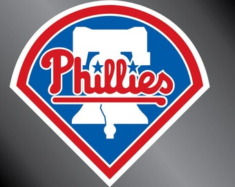 Philadelphia Phillies Vinyl Decal Sticker