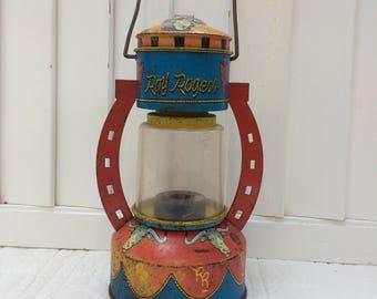 Roy Rogers Tin Lantern