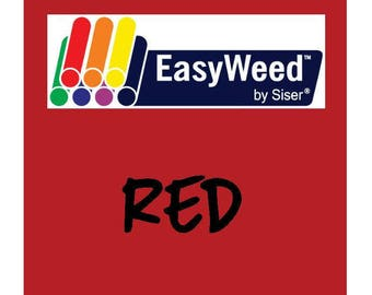 Siser EasyWeed Heat Transfer Vinyl - HTV - Red