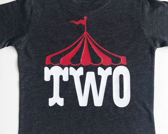Circus Birthday shirt, Circus Shirt, Circus 2nd Birthday, Circus 3rd Birthday, Circus 4th Birthday, Circus 5th Birthday, Circus 6th Birthday