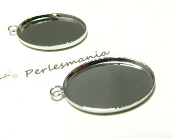 Primer 10 oval pendants 18 mm by 25mm quality PP