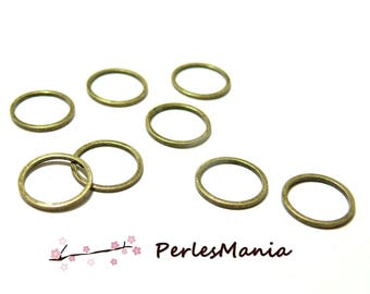 Pendants BRONZE closed round connector ring 12mm H1871211