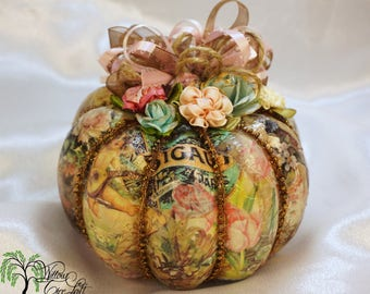 pumpkin decor etsy - Pumpkin Decor
