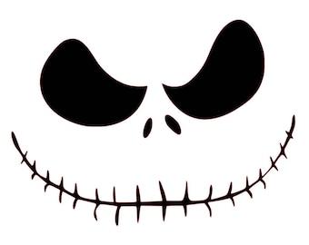 Nightmare Before Christmas - Jack Skellington - Nightmare Before Christmas Decal - Jack Skellington Decal - Laptop Decal - Mac Book Decal