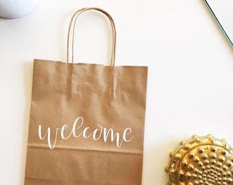 Custom gift bags for Erin