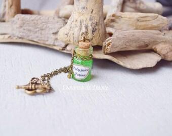 Polyjuice potion vial necklace / Polyjuice