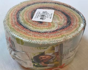 Moda Coney Island Jelly Roll by Joanna Figueroa for Fig Tree & Co