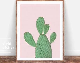 Succulent Print, Cactus Wall Art Print, Printable Poster, Modern Home Decor, Cactus Art, Succulent Wall Art Print, Botanical Print,  Cacti