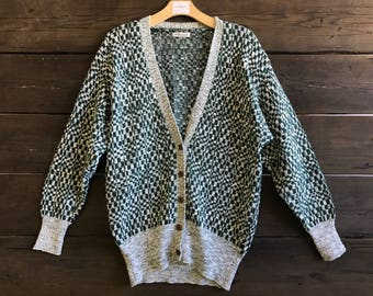 Vintage 80s Cardigan Sweater